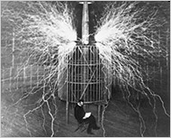 Nikola Tesla: one of my heroes!