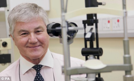 Laser Rx for preventing Macular Degeneration