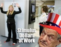 Soros and scanners – quite the stimulus.
