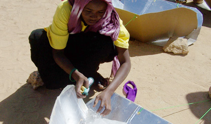 Now we are thinking!  Solar cookers