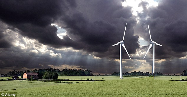 Windfarms causes toxic electrical pollution