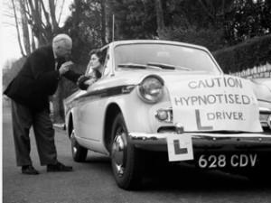 hypnotized driver